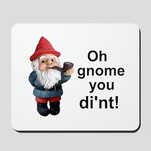 Oh gnome you di'nt! Mousepad