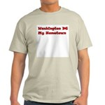 Washington DC My Hometown Light T-Shirt