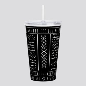 African Pattern Acrylic Double-wall Tumbler