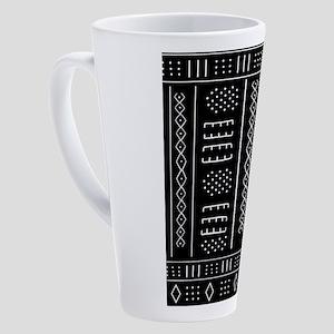 African Pattern 17 oz Latte Mug