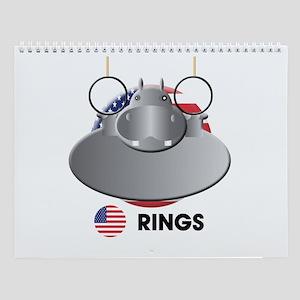 rings Wall Calendar