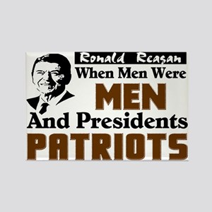 """Reagan: When Men Were Men"" Magnet"