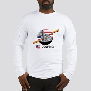 rowing Long Sleeve T-Shirt