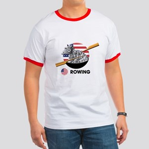 rowing Ringer T