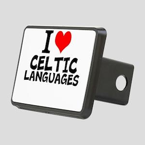 I Love Celtic Languages Hitch Cover