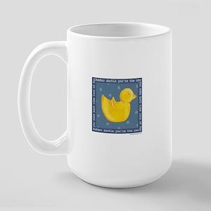 Rubber Duckie Large Mug