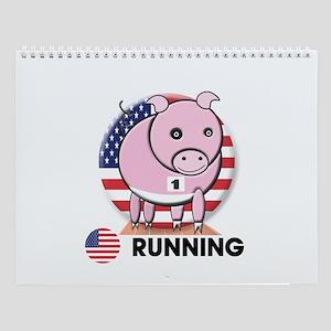 running Wall Calendar