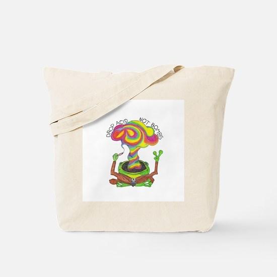 Drop Acid Not Bombs Tote Bag