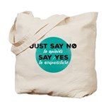 OpioidsNo, AcupunctureYes Tote Bag