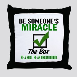 Check The Box 5 Throw Pillow