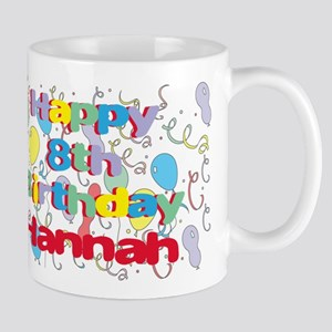 Hannah's 8th Birthday Mug