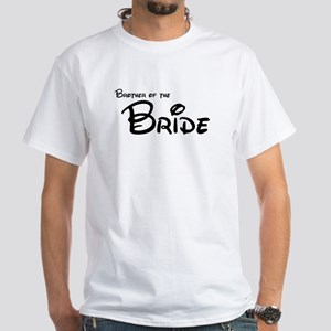 Brother of the Bride's White T-Shirt