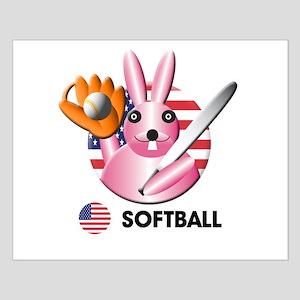 softball Small Poster