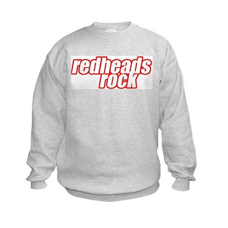 Redheads Rock Kids Sweatshirt