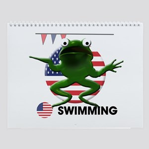 swimmer Wall Calendar