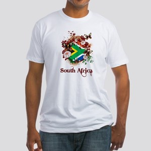 Butterfly South Africa Fitted T-Shirt