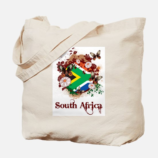 Butterfly South Africa Tote Bag