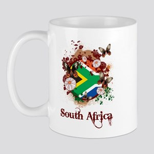 Butterfly South Africa Mug