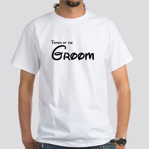 Father of the Groom's White T-Shirt