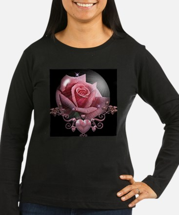 rosepinkinglobe Long Sleeve T-Shirt