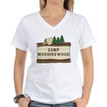 Camp Morningwood Women's V-Neck T-Shirt