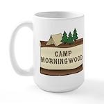 Camp Morningwood Large Mug