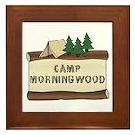 Camp Morningwood Framed Tile