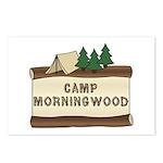Camp Morningwood Postcards (Package of 8)