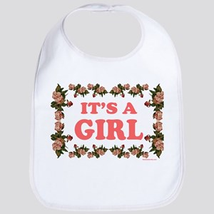 IT'S A GIRL Bib