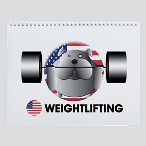 weightlifting Wall Calendar