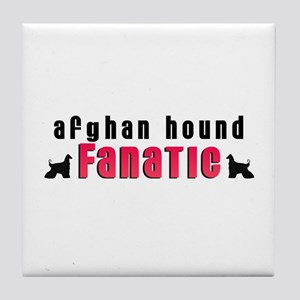 Afghan Hound Fanatic Tile Coaster