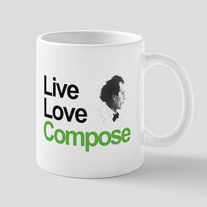 Mahler's Live Love Compose Mug