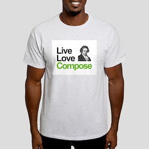 Ludwig's Live Love Compose Light T-Shirt