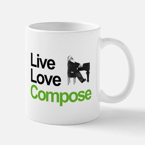 Brahms' Live Love Compose Mug