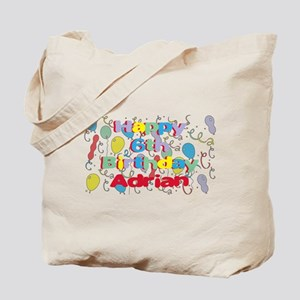 Adrian's 6th Birthday Tote Bag