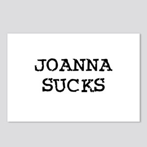 Joanna Sucks Postcards (Package of 8)