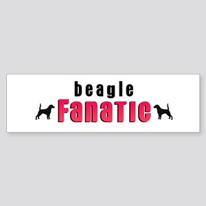 Beagle Fanatic Bumper Sticker