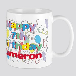 Cameron's 7th Birthday Mug