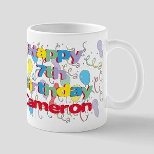 Cameron's 7th Birthday Mug