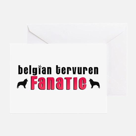 Belgian Tervuren Fanatic Greeting Card