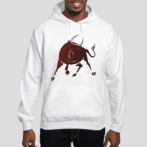 Bull and Bear Hooded Sweatshirt