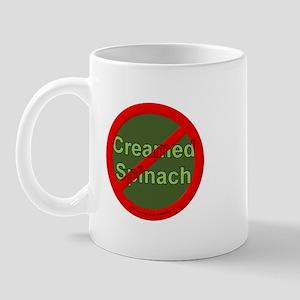 No Creamed Spinach Mug