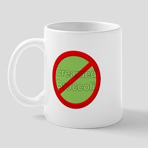 No Creamed Broccoli Mug
