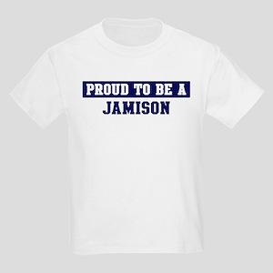 Proud to be Jamison Kids Light T-Shirt