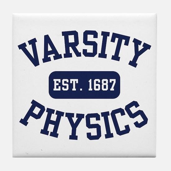 Varsity Physics Tile Coaster