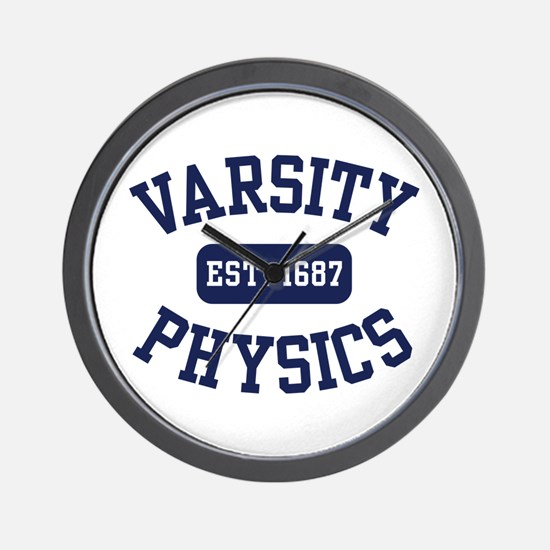Varsity Physics Wall Clock