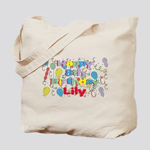 Lily's 8th Birthday Tote Bag