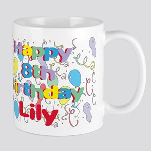 Lily's 8th Birthday Mug