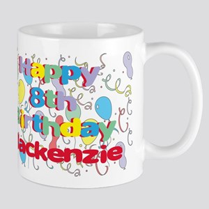 Mackenzie's 8th Birthday Mug