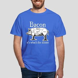 Bacon: It's what's for dinner Dark T-Shirt